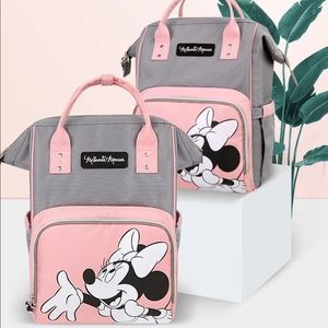 Disney Minnie Mouse Diaper Bag Mommy Backpack